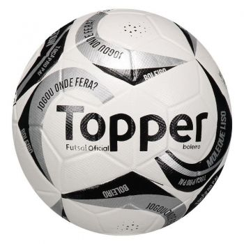 Bola Topper Boleiro II Futsal Prata
