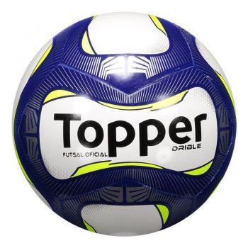 Bola Topper Drible Futsal Azul e Amarela