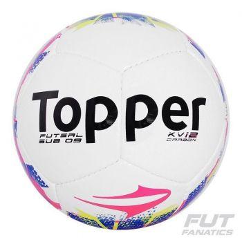 Bola Topper Kv Carbon Sub9 Futsal