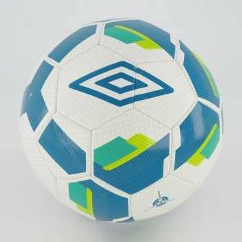 Bola Umbro Hit Supporter Campo Branca e Azul