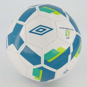 Bola Umbro Hit Supporter IN Futsal Branca e Azul