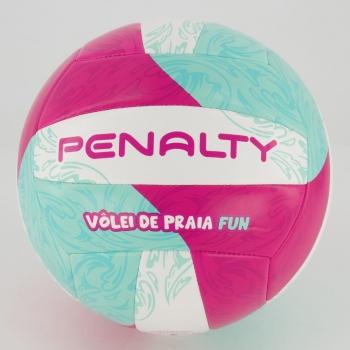 Bola Vôlei de Praia Penalty Fun XXI Branca e Rosa