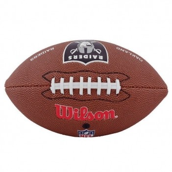 Bola Wilson NFL Oakland Raiders Futebol Americano