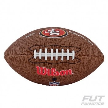 Bola Wilson NFL San Francisco 49ers Futebol Americ