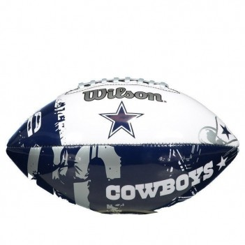 Bola Wilson NFL Team Logo Dallas Cowboys