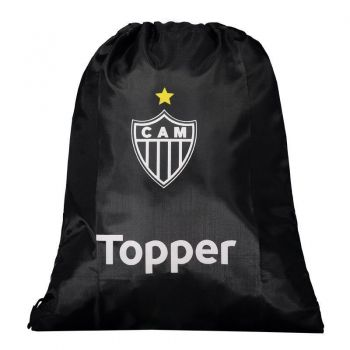 Bolsa de Ginástica Topper Atlético Mineiro Preta