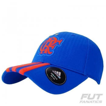 Boné Adidas Flamengo 3S Azul
