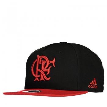 Boné Adidas Flamengo Aba Reta Preto