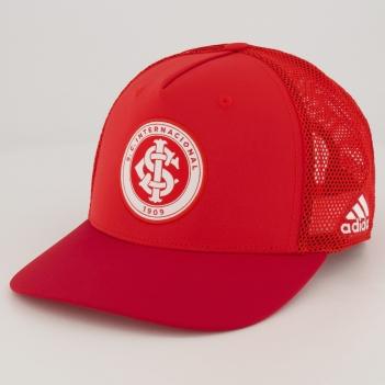 Boné Adidas Internacional Trucker Vermelho