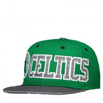 Boné Adidas NBA Boston Celtics Verde e Cinza