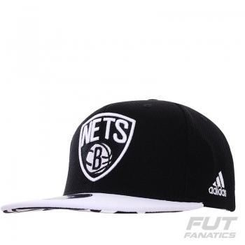 Boné Adidas NBA Brooklyn Nets Preto