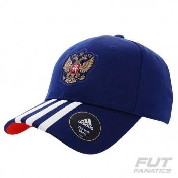 Boné Adidas Rússia 3s Azul