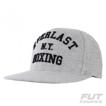 Boné Everlast NY Boxing Aba Reta Cinza