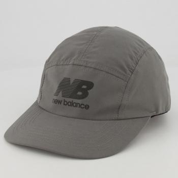 Boné New Balance Five Cinza