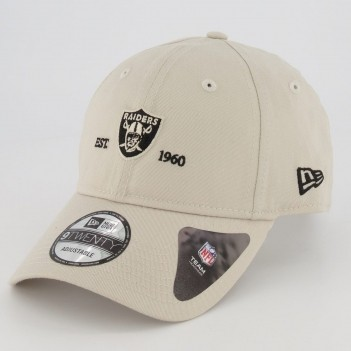 Boné New Era 920 NFL Oakland Raiders Bege