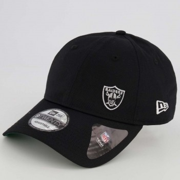 Boné New Era 920 NFL Oakland Raiders Preto