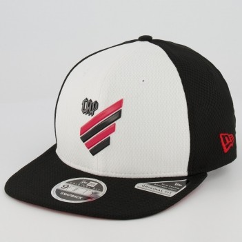 Boné New Era Athletico Paranaense 950 Preto e Branco