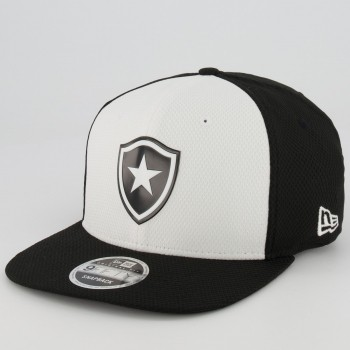 Boné New Era Botafogo 950 Preto e Branco