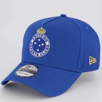 Boné New Era Cruzeiro Escudo Azul