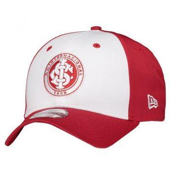 Boné New Era Internacional 940 Vermelho e Branco