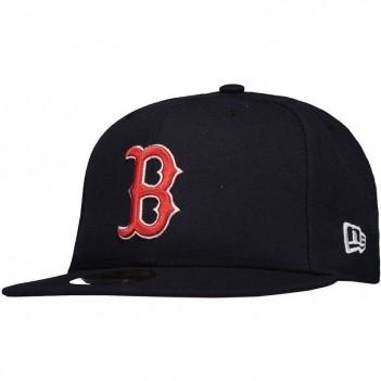 Boné New Era MLB Boston Red Sox 5950 Marinho e Vermelho