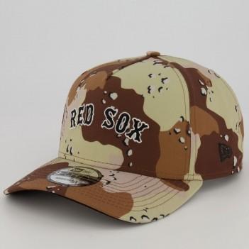 Boné New Era MLB Boston Red Sox 940 Marrom
