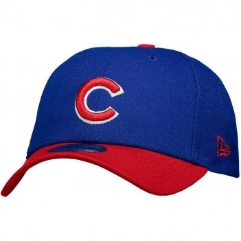 Boné New Era MLB Chicago Cubs 940 Azul e Vermelho