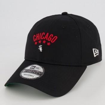 Boné New Era MLB Chicago White Sox Preto e Verde