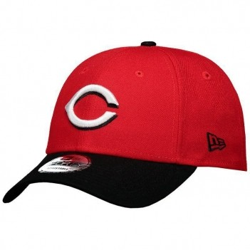Boné New Era MLB Cincinnati Reds 940 Vermelho e Preto