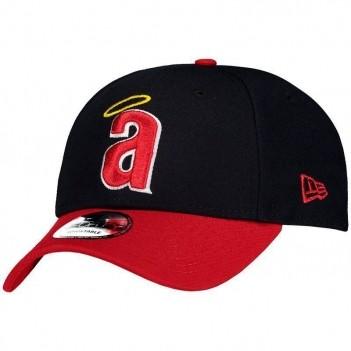 Boné New Era MLB Califórnia Angels 940 Marinho e Vermelho