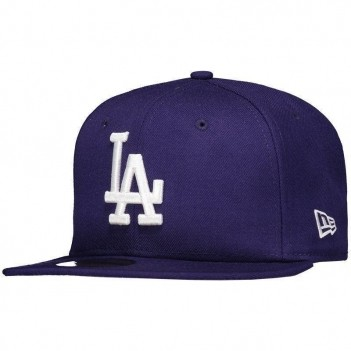 Boné New Era MLB Los Angeles Dodgers 5950 Roxo