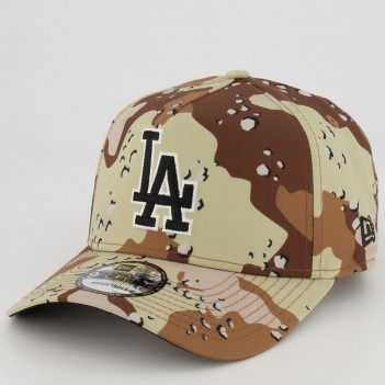 Boné New Era MLB Los Angeles Dodgers 940 Especial Bege