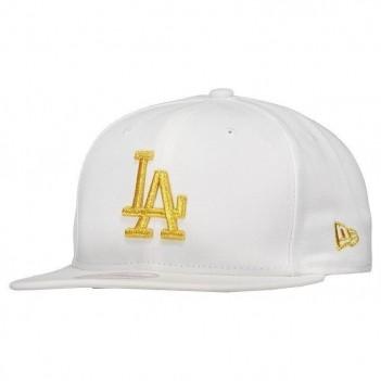 Boné New Era MLB Los Angeles Dodgers 950 Branco e Dourado