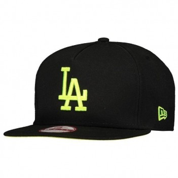 Boné New Era MLB Los Angeles Dodgers 950 Preto e Verde