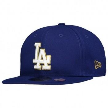 Boné New Era MLB Los Angeles Dodgers 950 Royal e Dourado