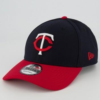 Boné New Era MLB Minnesota Twins 940 Marinho e Vermelho