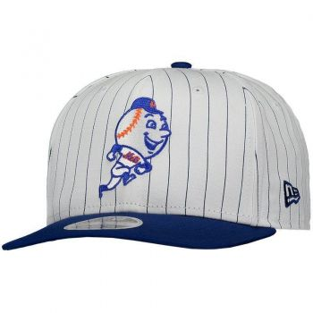 Boné New Era MLB New York Mets 950 Branco e Azul