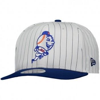 Boné New Era MLB New York Mets 950 Branco e Azul