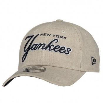 Boné New Era MLB New York Yankees Bege Mescla