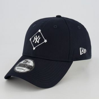 Boné New Era MLB New York Yankees 920 Essential Marinho
