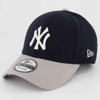 Boné New Era MLB New York Yankees 940 Preto e Cinza