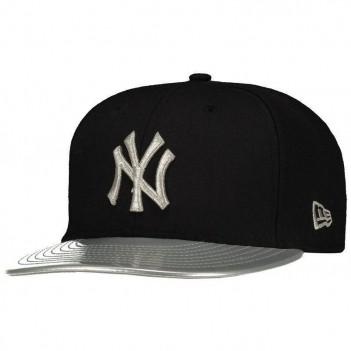 Boné New Era MLB New York Yankees 950 Cinza e Preto
