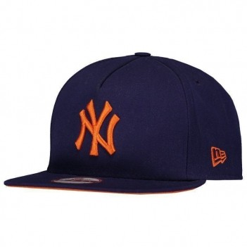 Boné New Era MLB New York Yankees 950 Roxo e Laranja