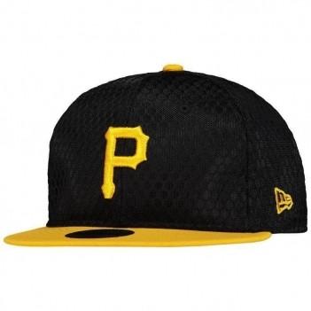 Boné New Era MLB Pittsburgh Pirates 950 Preto e Amarelo