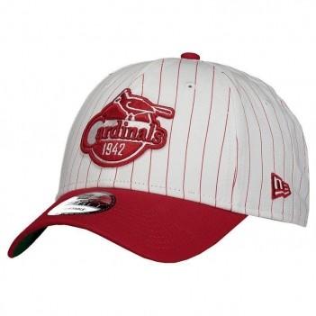 Boné New Era MLB Saint Louis Cardinals 940 Branco e Vermelho