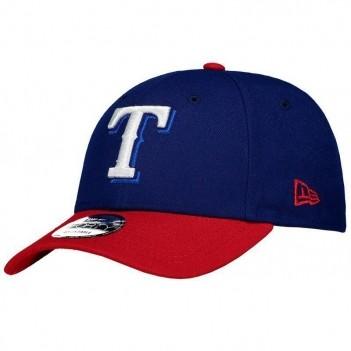 Boné New Era MLB Texas Rangers 940 Azul e Vermelho