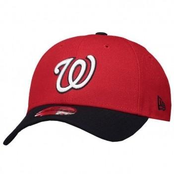 Boné New Era MLB Washington Nationals 940 Vermelho e Preto