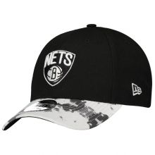 Boné New Era NBA Brooklyn Nets 940 Preto e Branco