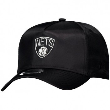 Boné New Era NBA Brooklyn Nets 940 Escudo Preto