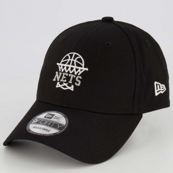 Boné New Era NBA Brooklyn Nets Preto